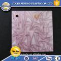dureza de alto impacto piso acrílico folha padrão pmma plástico
