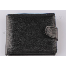 2015 Solid Men Leather Wallet