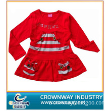 100% Cotton Party Dress for Girl (CW-KIDS-S9)