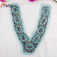 Colorido vendiendo caliente Elgant Garment Collar Trimming