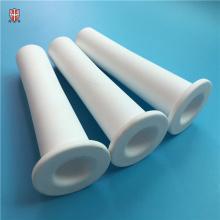 Tuyau de tube en céramique à haute température 92% 95% d'alumine