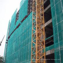 Fallschutz hdpe grüne Farbkonstruktion, die schützendes Sicherheitsnetz errichtet