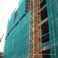 Fall protection hdpe green color construction building protective safety net
