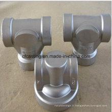 Accessoire de pompe de pièce de bâti de précision d'acier inoxydable