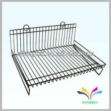 3 étagères plaque de peinture amovible en métal Wire Display Stand