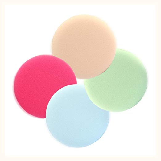 cosmetic round puff