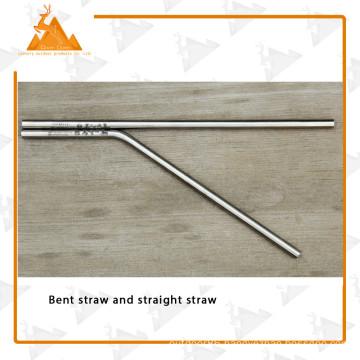 Tube Brush Drinking Straw Camping Straw New Titanium Straw