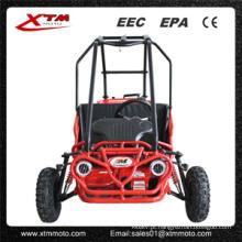 Assento dois 50cc ir Kart diferencial Mini Buggy para crianças