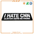 Je déteste le patch de broderie CNN Clinton News Networks