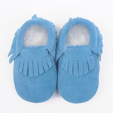soft newborn leather baby moccasins