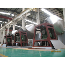 Magnesium oksida besi Double Tapered Vacuum Drying Machine