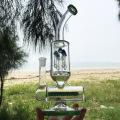 Зимний новейший дизайн зеленого стекла курения водопровод (ES-GB-299)