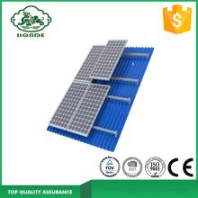 सौर पैनल कोष्ठक के लिए एल्यूमीनियम रेल