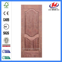 JHK-S06 natural bubingga door skin 3 bend casing panel morbidezza