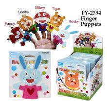 Brinquedo engraçado de fantoches de dedo engraçado