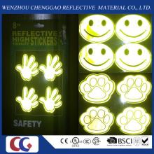 Pegatinas reflectantes con alta visibilidad para el uso de los estudiantes