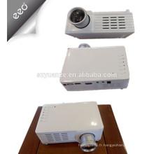 Projecteur bon marché à prix compétitif, mini projecteur, projecteur led, projecteur domestique