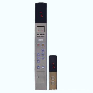 Piezas de repuesto de ascensor Cba02 coche Panel de operación (COP) y el Panel de operación pasillo (salto) para el elevador