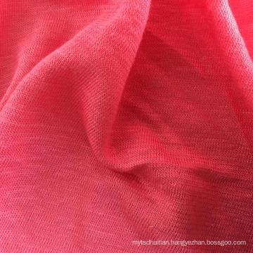 Linen Bamboo Knitted Garment Jersey