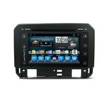 Vier Kern! Androide 6.0 Auto-DVD-Spieler für Suzuki-Zündung mit kapazitivem Schirm / GPS / Spiegel-Verbindung / DVR / TPMS / OBD2 / WIFI / 4G / 3G / IPOD