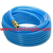 PU manguera de la trenza, manguera reforzada PU, PU Net tubo, tubo de PU