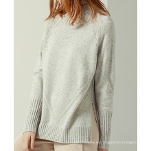 P18B12TR 100% cachemira de punto suéter de la señora