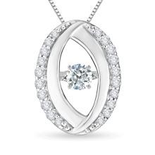Venta al por mayor de la joyería del diamante del baile de la plata esterlina 925