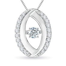 925 Sterling Silver Dancing Diamond Jewelry Wholesales