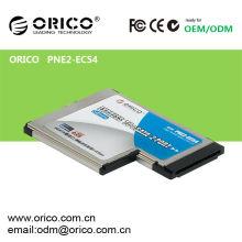 2 port eSATA Express Card for Laptop 54mm slot