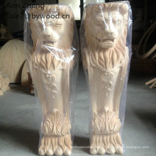 man woman girl corbel and Carved wooden corbels animal lion wood column
