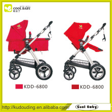 Steel baby stroller , baby stroller with safety seat belt