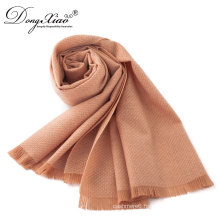 Garment Accessories Women Rib Chunky Various Colors Knit Merino Wool Fabric Scarf