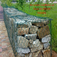 PVC Coated Gabion Box Gabion Box Made in China Factory