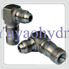 Hydraulic Fittings Metric Thread 60 Deg Flare Cone