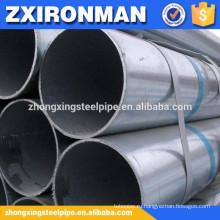 Размер сварных стальных труб большого диаметра горячей ближнего оцинкованной cs