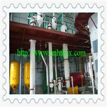 Baixo consumo de solvente máquina de extração de óleo de colza