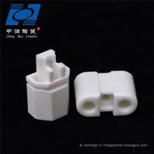 Douille céramique blanche industrielle en céramique