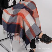 al por mayor manta de vuelta de lana merino gruesa