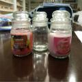 Большой кувшин свечи с благовониями в пластиковые держатели