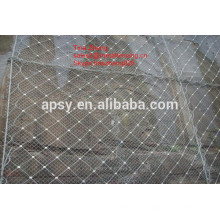 gabion mats / pente gabion maille de protection / hexagonale gabion mesh
