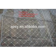габионные маты/наклона защитной сетки gabion/шестиугольная сетка gabion