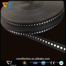 faixa elástica reflexiva alta de venda quente da fita para o material reflexivo do vestuário