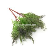 5 цветов brabches дерево, листья искусственные вечнозеленые ветви с хорошим ценой