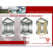 Cabina de ascensor con panel de grabado (SN-CD-164)