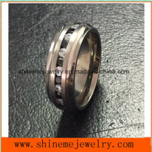 Popular High Quality Zircon Titanium Jewelry Ring Tr1869