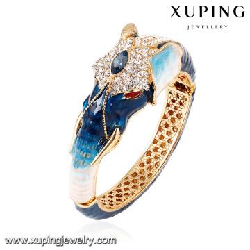 Pulseira -60 moda elegante em forma de animal zircônia cúbica jóias pulseira