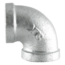 "Galvanized industrial pipe fittings 3/4"" 90 degree elbow"