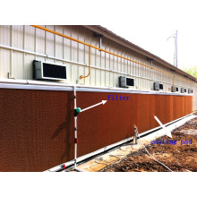 Poultry Cooling Pad in Farm House with Prefab House Construction