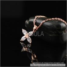 VAGULA Sterne Design Zirkon Halskette (Hln16358)