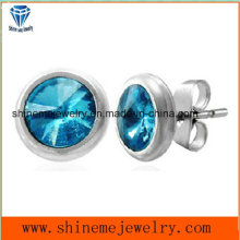 Jewelry Ear Stud Earring with Stone